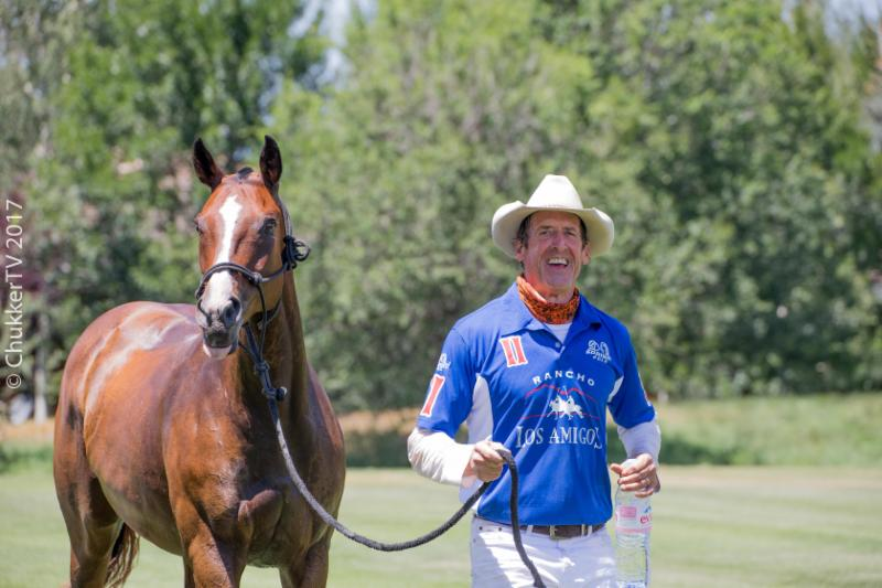 Stewart Armstrong and the subsidiary game Best Playing Pony Riegna.
