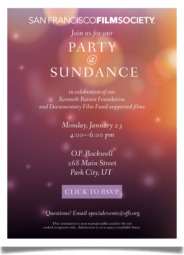 Sundance's blog | Filmfestivals com