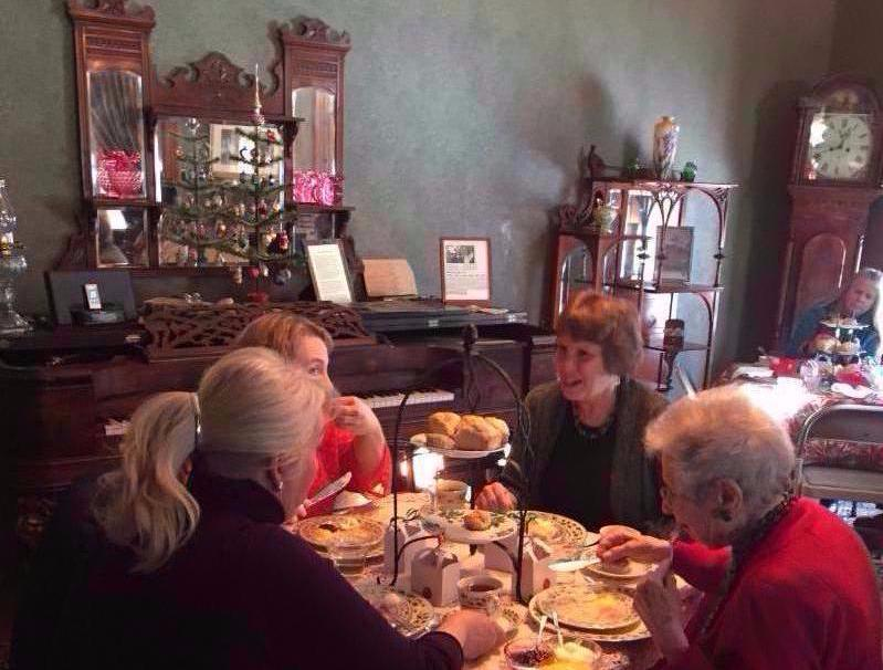 Holiday teas in the Avery House parlors