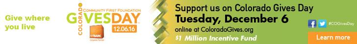 Support PLF on Colorado Gives Day Tue Dec 6