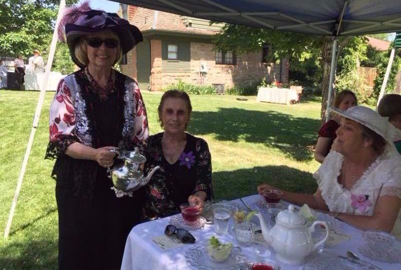 June Tea on the Avery Lawn