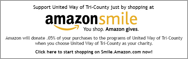 Support United Way of Tri-County just by shopping on Amazon Smile