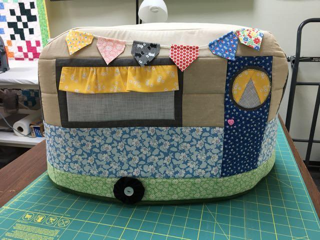 Happy Camper Sewing machine cover