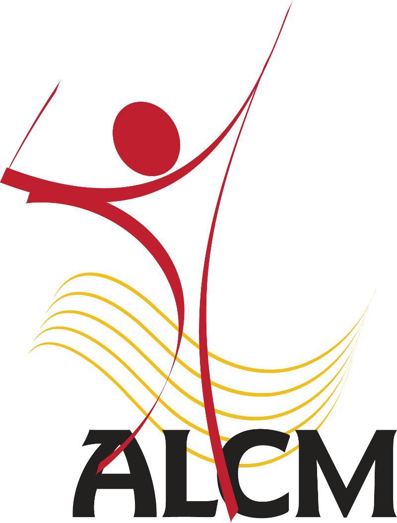 ALCM Logo with baton