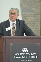 Doug Chaffin, Monroe County BDC Board Chair, President & CEO of Monroe Bank & Trust