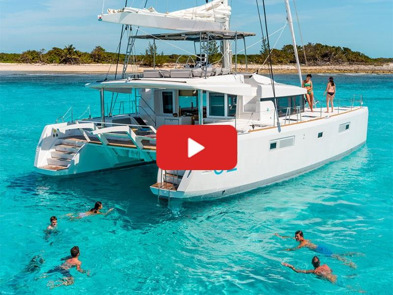 Lagoon 52's Fly-bridge and Sportop For Sale