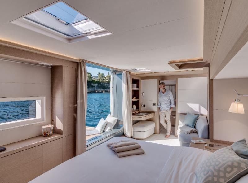 Let's Go Big Aboard The  Lagoon Seventy 8 Motor Yacht during Miami Boat Show starting February 15 through February 19.
