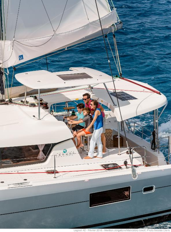 LAGOON 42 AND  LAGOON 450  F New Order cancelled by a  Charter Company.