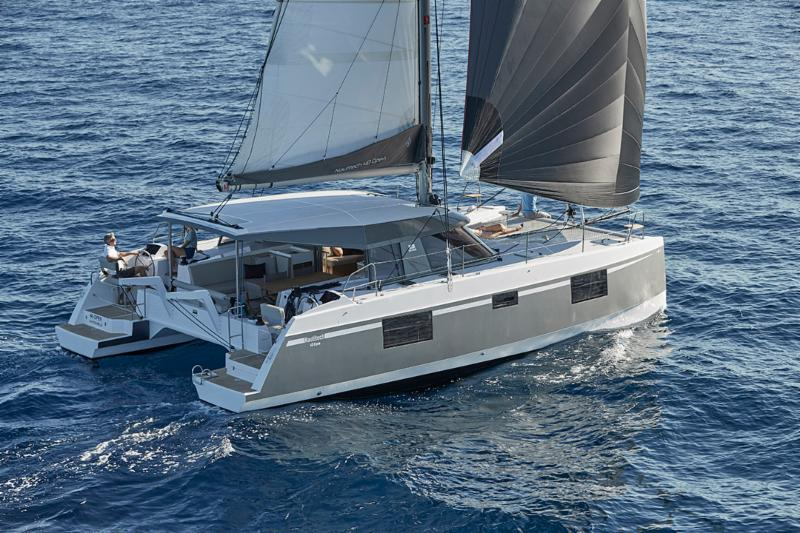 THE NEW 2018 BAVARIA NAUTITECH 40 OPEN EN-ROUTE TO SAN DIEGO, CA