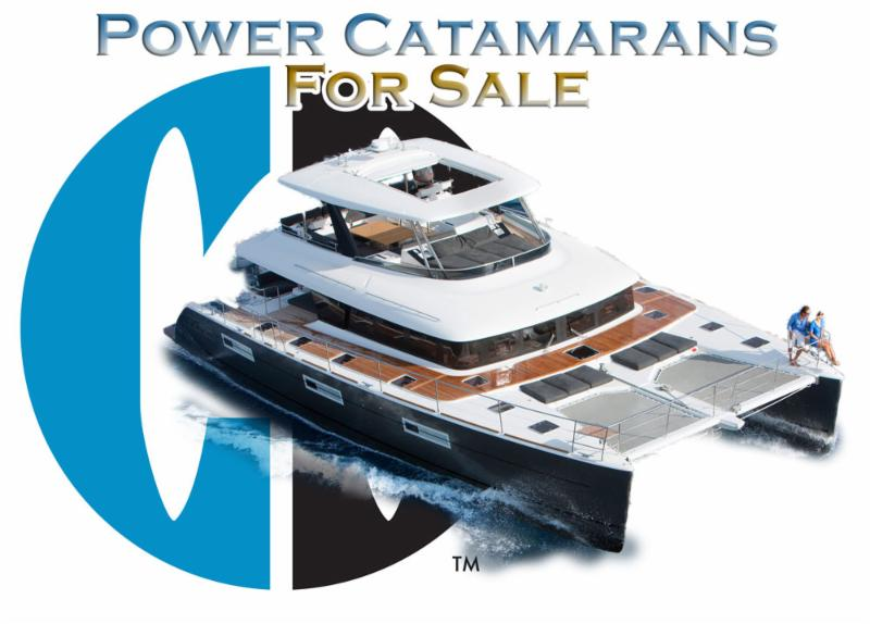 Power Catamarans For Sale:  44 to 52 Feet