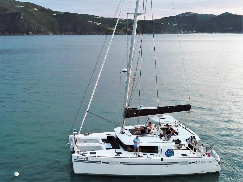 2019 Lagoon 450 For Sale. Own Her by October 2018 in Tortola. Get Charter Business Plan.