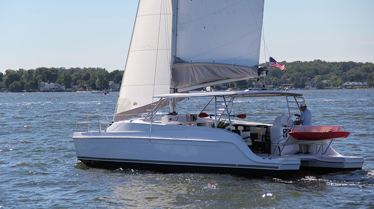 Gemini Catamarans Announces Latest product Enhancements Aboard Gemini Freestyle 37 and 399 POWER...