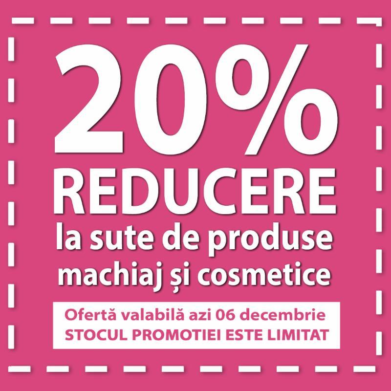 20% REDUCERE  sute de produse cosmetice si machiaj LAVERA