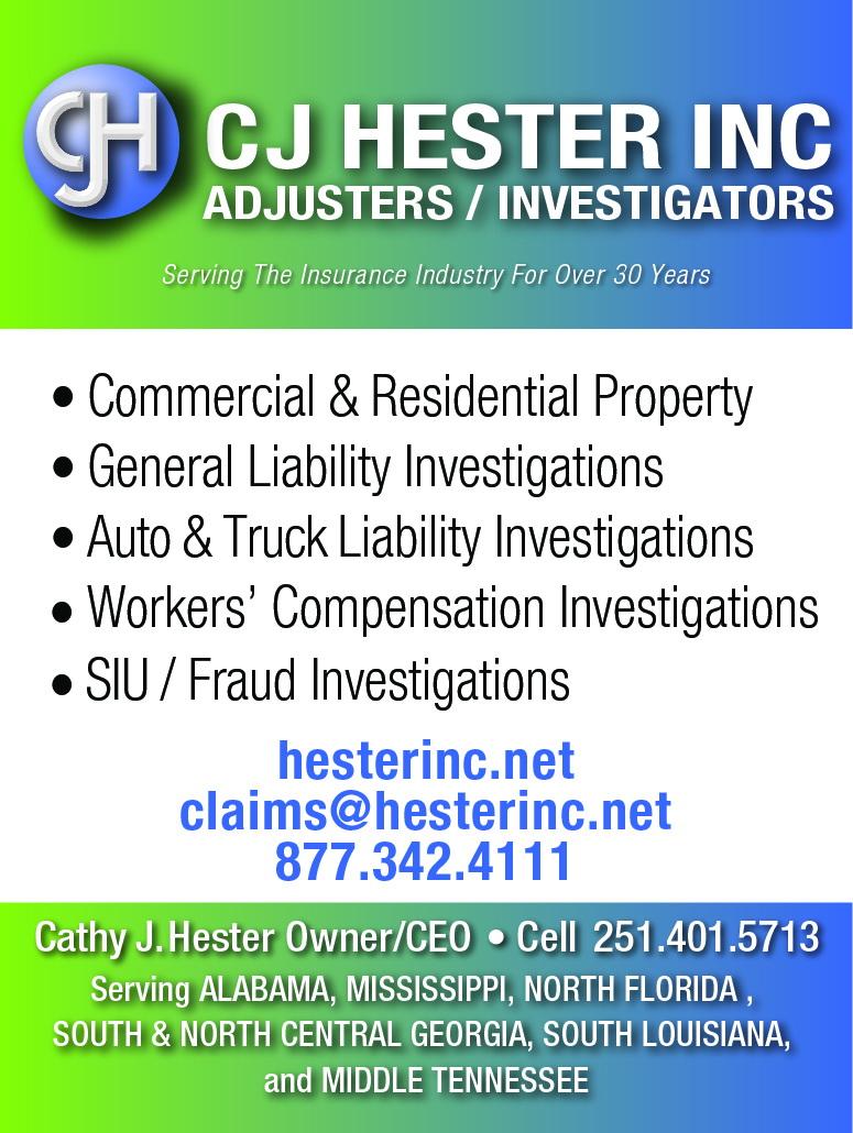2015 C J Hester ad