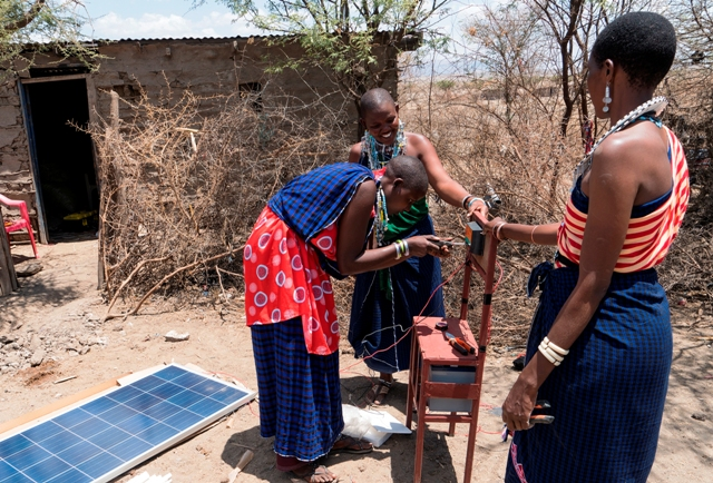 Solar micro-grids Maasai Stoves _ Solar Project