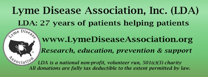 New Tick Spreading Fast; New Bill: National Lyme Strategy; LDA Conference Registration Open!