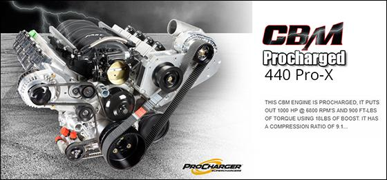 cbm procharged 440 prox
