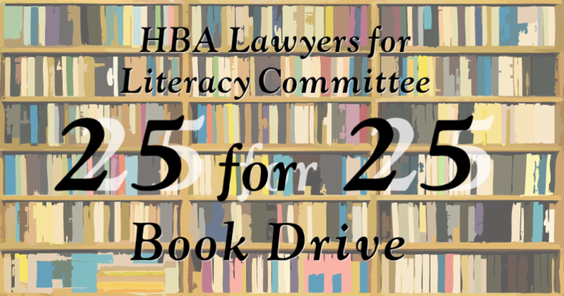 25 for 25 Book Drive