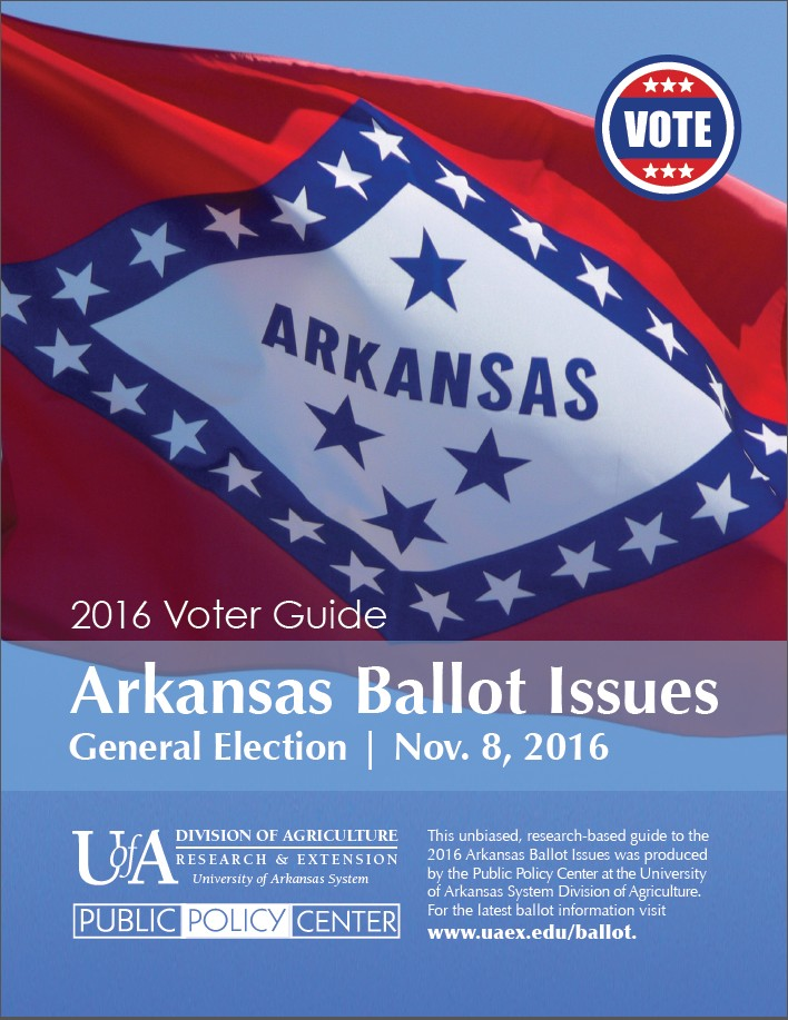 2016 Arkansas Ballot Issues Voter Guide