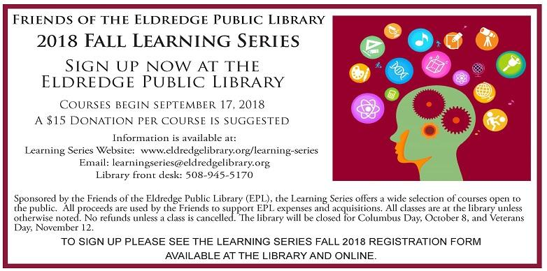 Fall 2018 Learning series