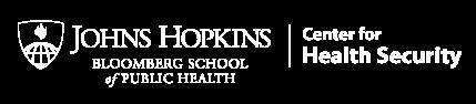 Johns Hopkins Center for Health Security logo