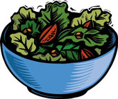 Bowl of Salad Greens