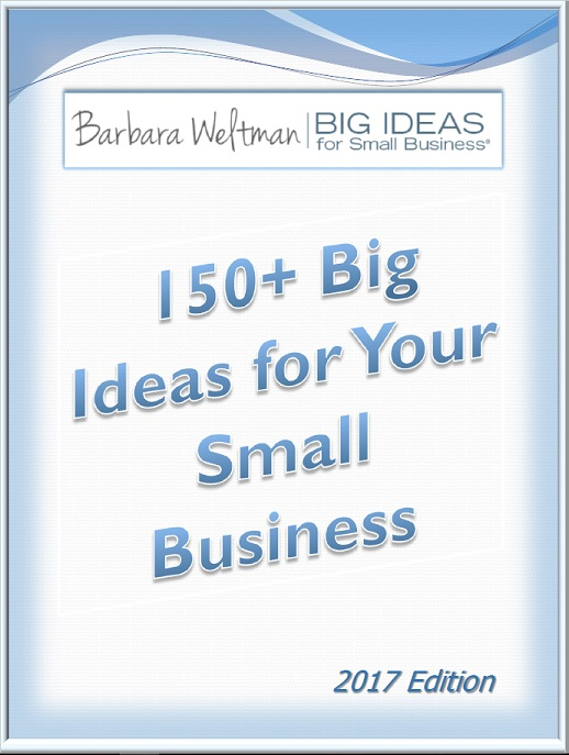 150+ Big Ideas for Your Small Business