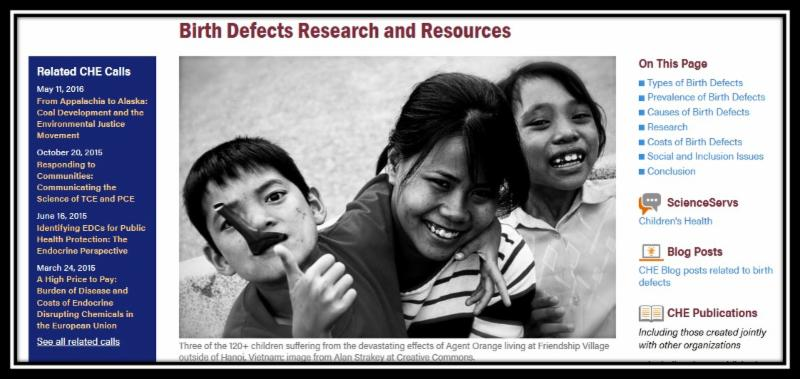 birth defects research