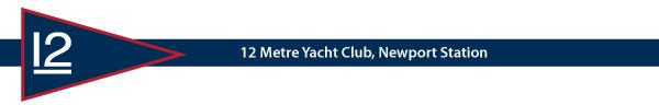 12 Metre Yacht Club banner