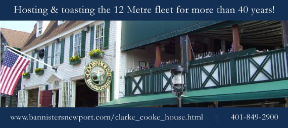 Clarke Cooke House_ Newport_ Rhode Island_ home of the 12mR Yacht Club