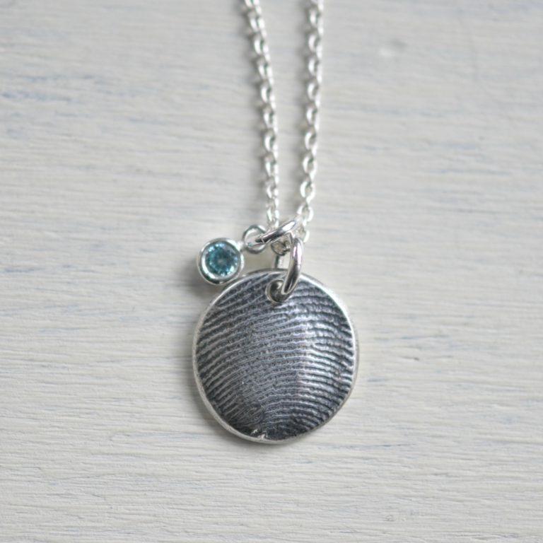 Sue gray Fingerprint charm