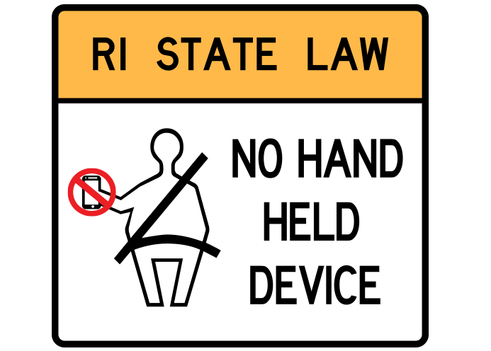 RI State Law_ No Hand Held Devices
