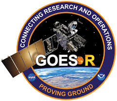 GOES-R Connecting Research and Operations satellite in space.
