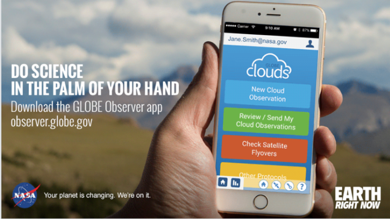 Globe Observer app.