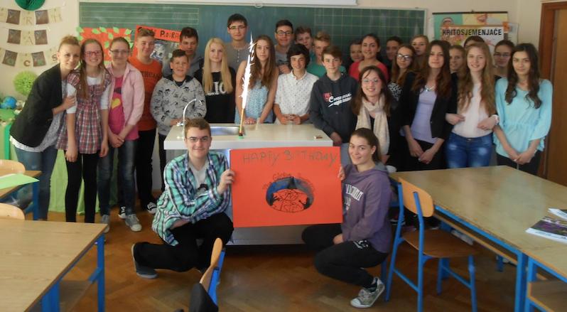 photo_ Croatian Students Celebrate Earth Day 2017