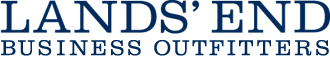 The logo of Land's End Business Outfitters.