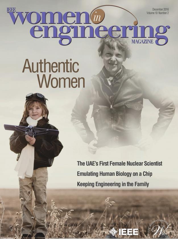 Women in Engineering magazine.