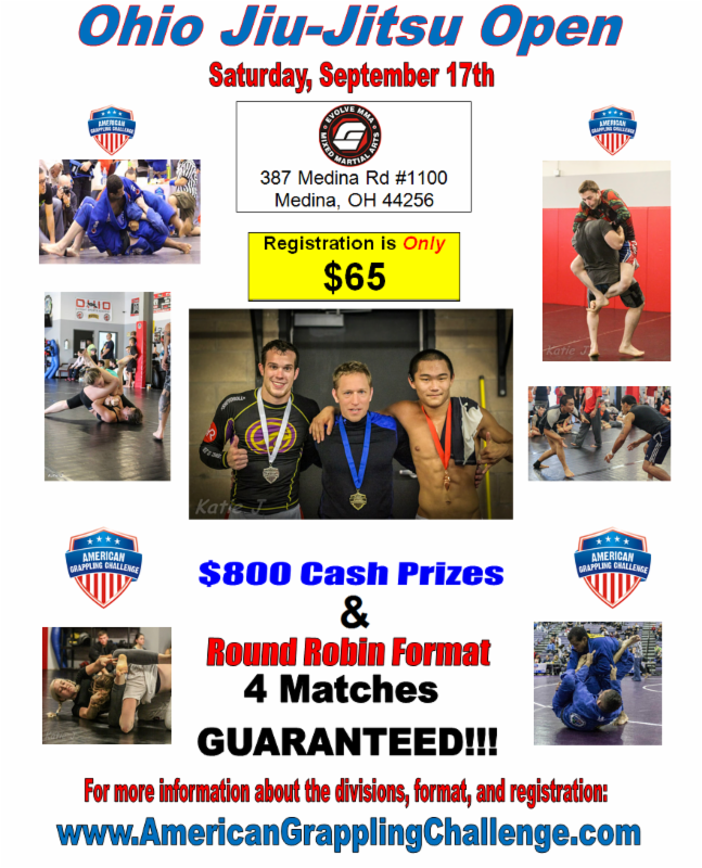 Ohio Jiu-Jitsu Open / Akron, OH / September 17th