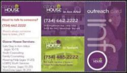 Ozone House Outreach Card