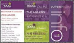 Ozone House Outreach Card