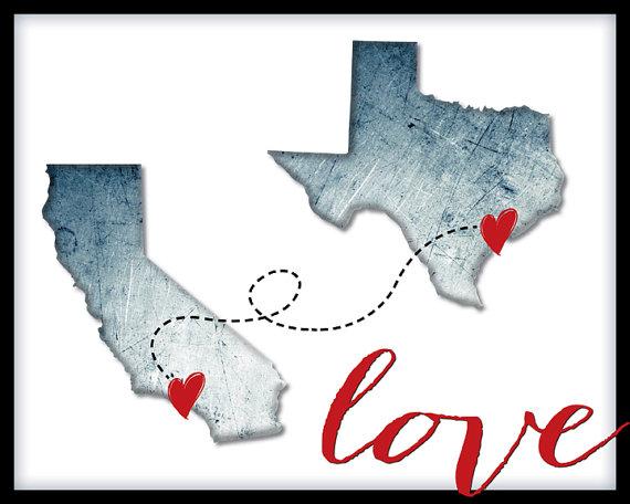 California Texas Love