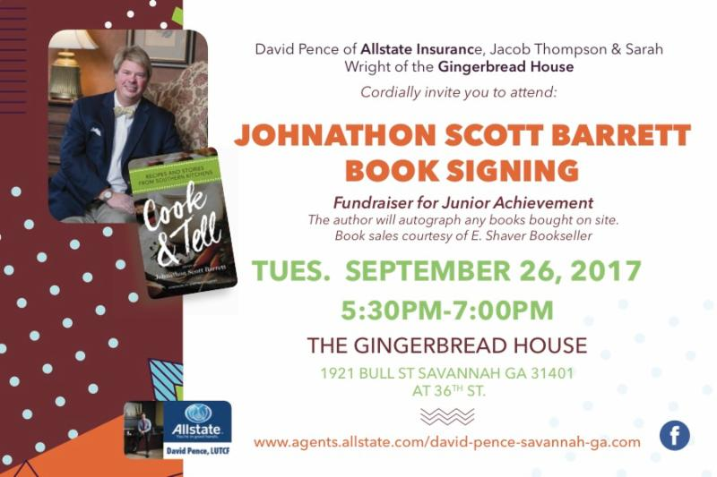Johnathon Barrett Book Signing for JA