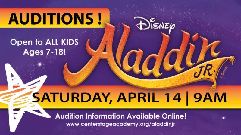 Aladdin Jr Auditions