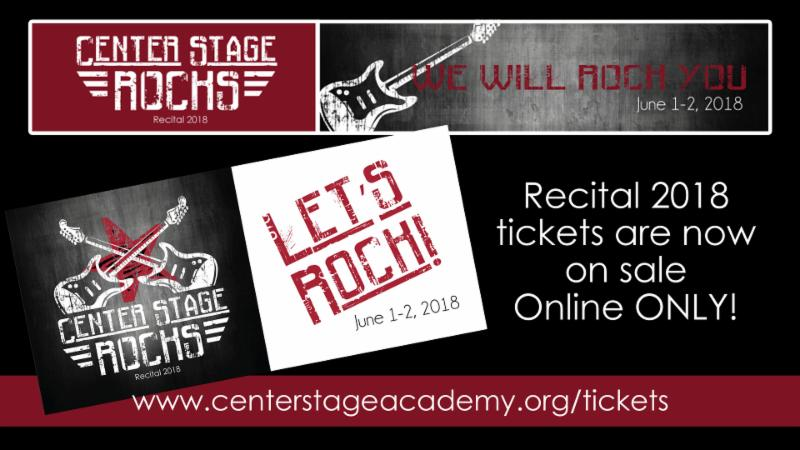 CS Recital 2018 Tickets on Sale