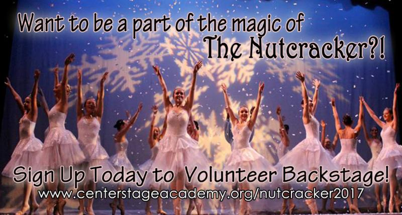 Nutcracker Volunteers