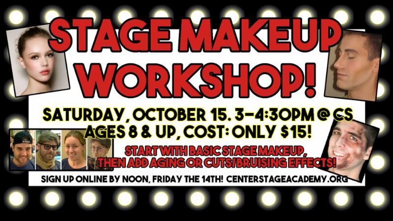 Stage Makeup Workshop