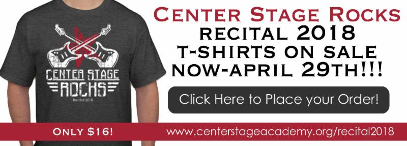 2018 Recital T-Shirts