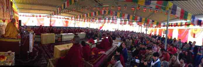 Ayang Rinpoche's Phowa Course in Bodhgaya