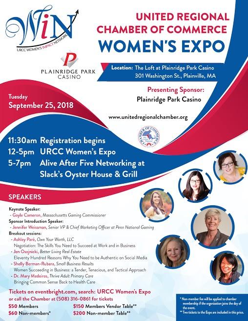 URCC Women's Expo at Plainridge Park Casino - Sep 25