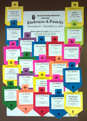 JFS Embrace-A-Family Gift Board